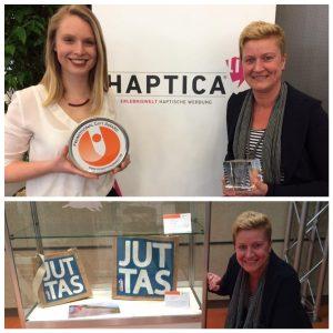 Juttas promotional gift award