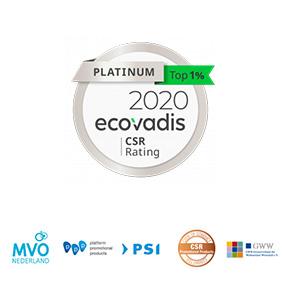 Eco-vadis certificates
