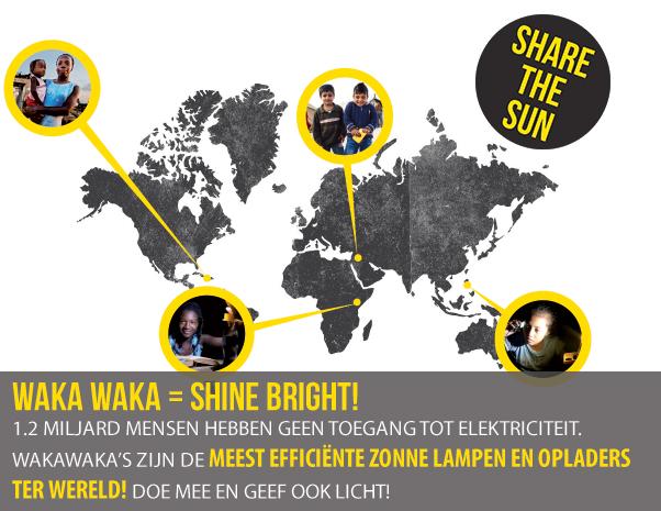 Waka-Waka-Geef-Shine bright